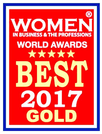 SkyStem Women in Buisness Gold Award ART close and reconciliation automation software